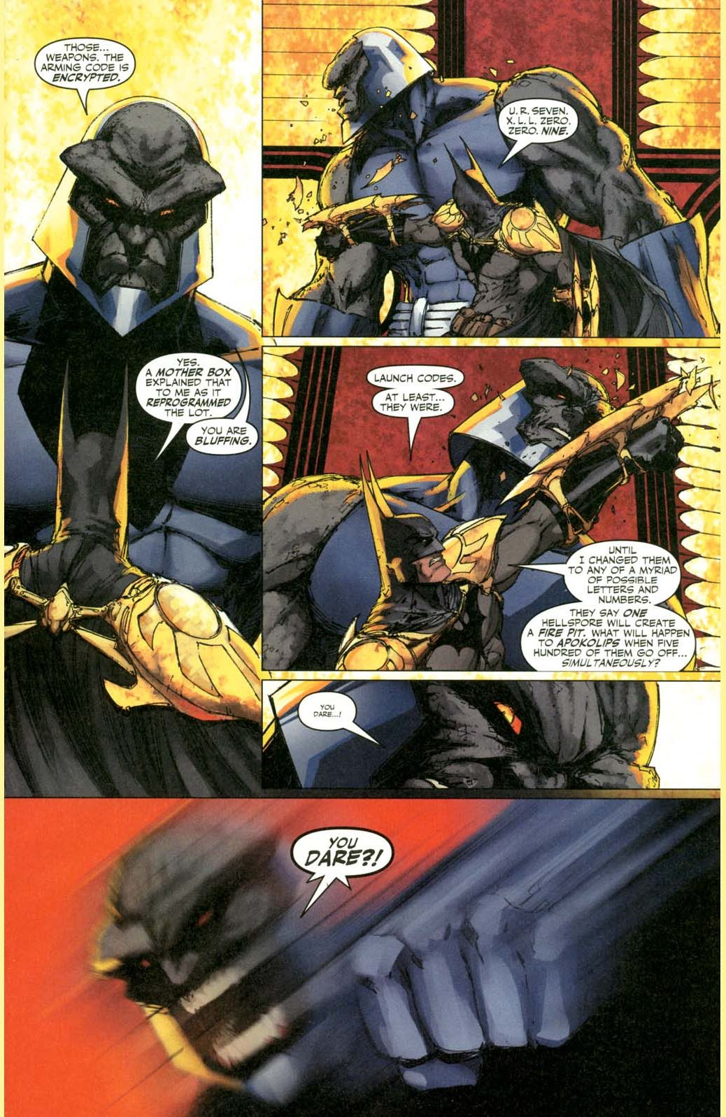 how batman earned darkseid's admiration 2