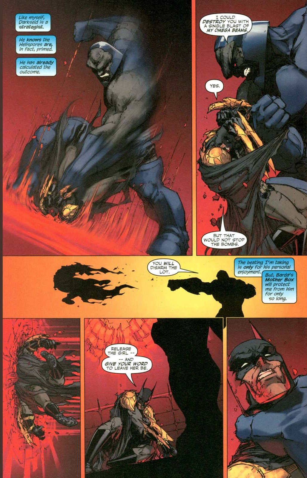 how batman earned darkseid's admiration 3