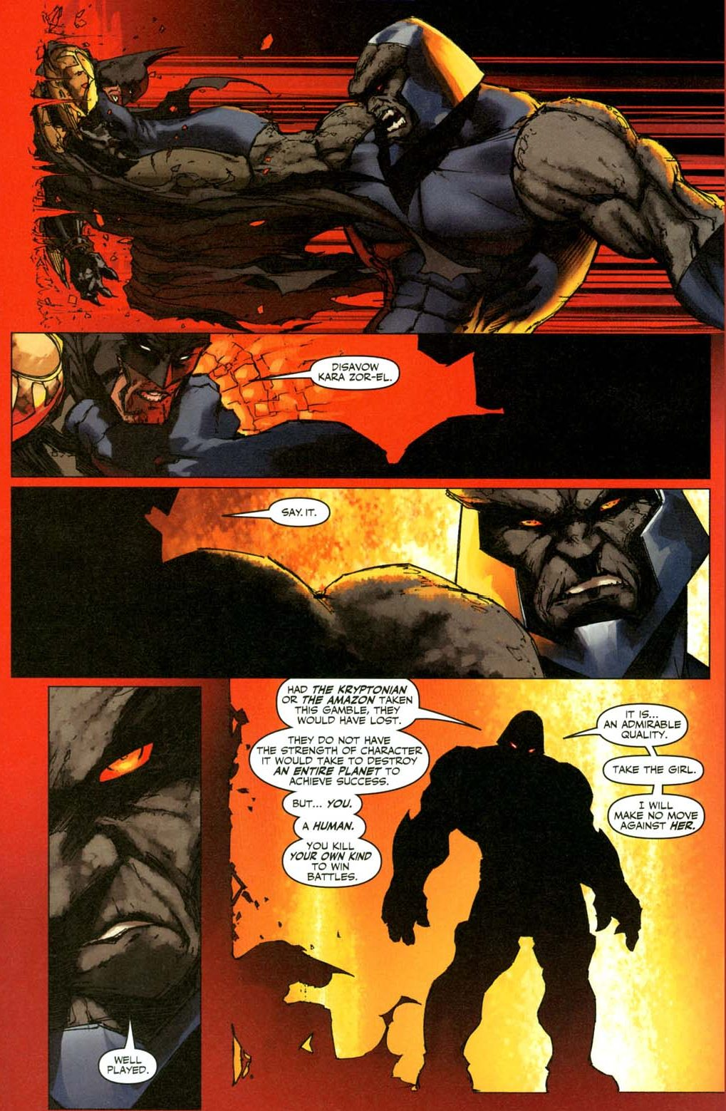 how batman earned darkseid's admiration 4