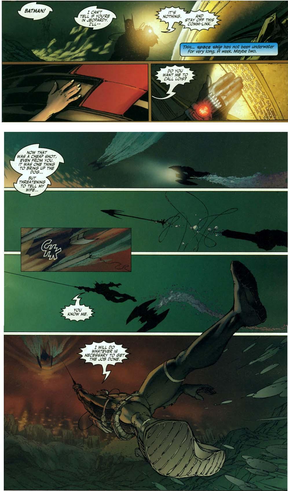 how batman handles superman