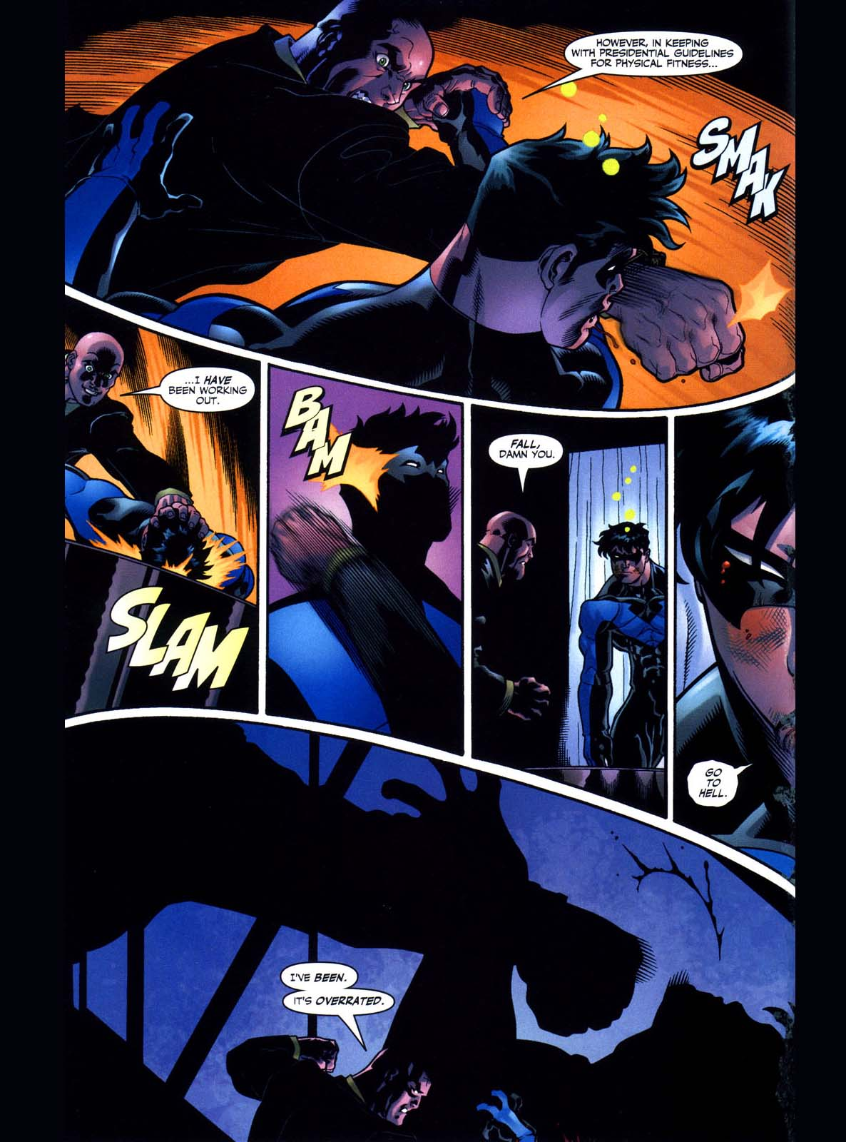 lex luthor takes out the bat kids 3