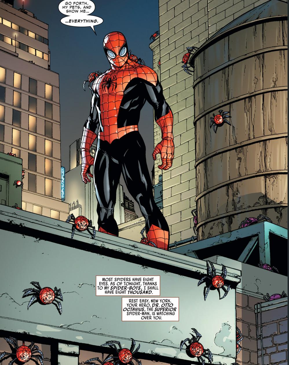 superior spider-man spiderbots