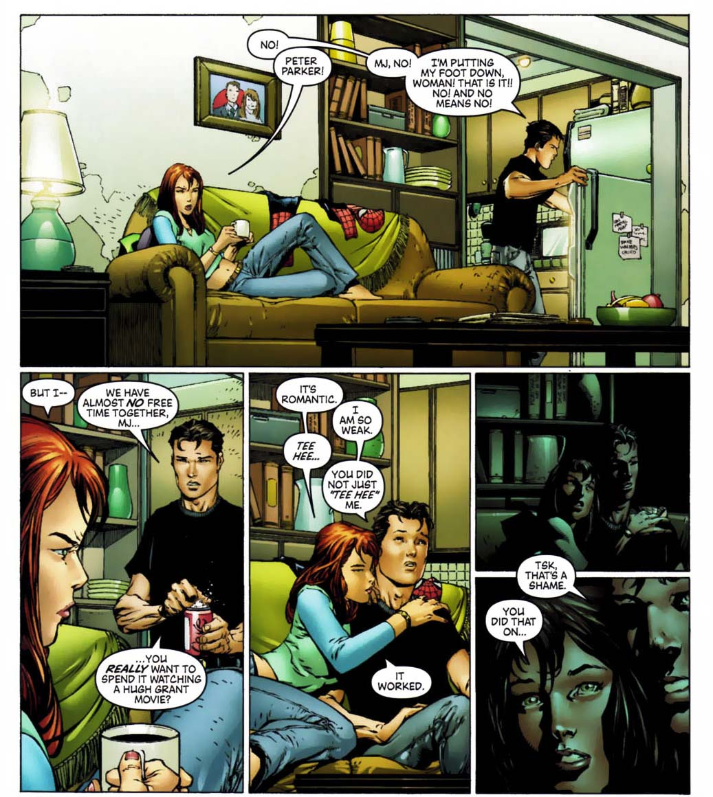 spider-man doesn't like hugh grant movies