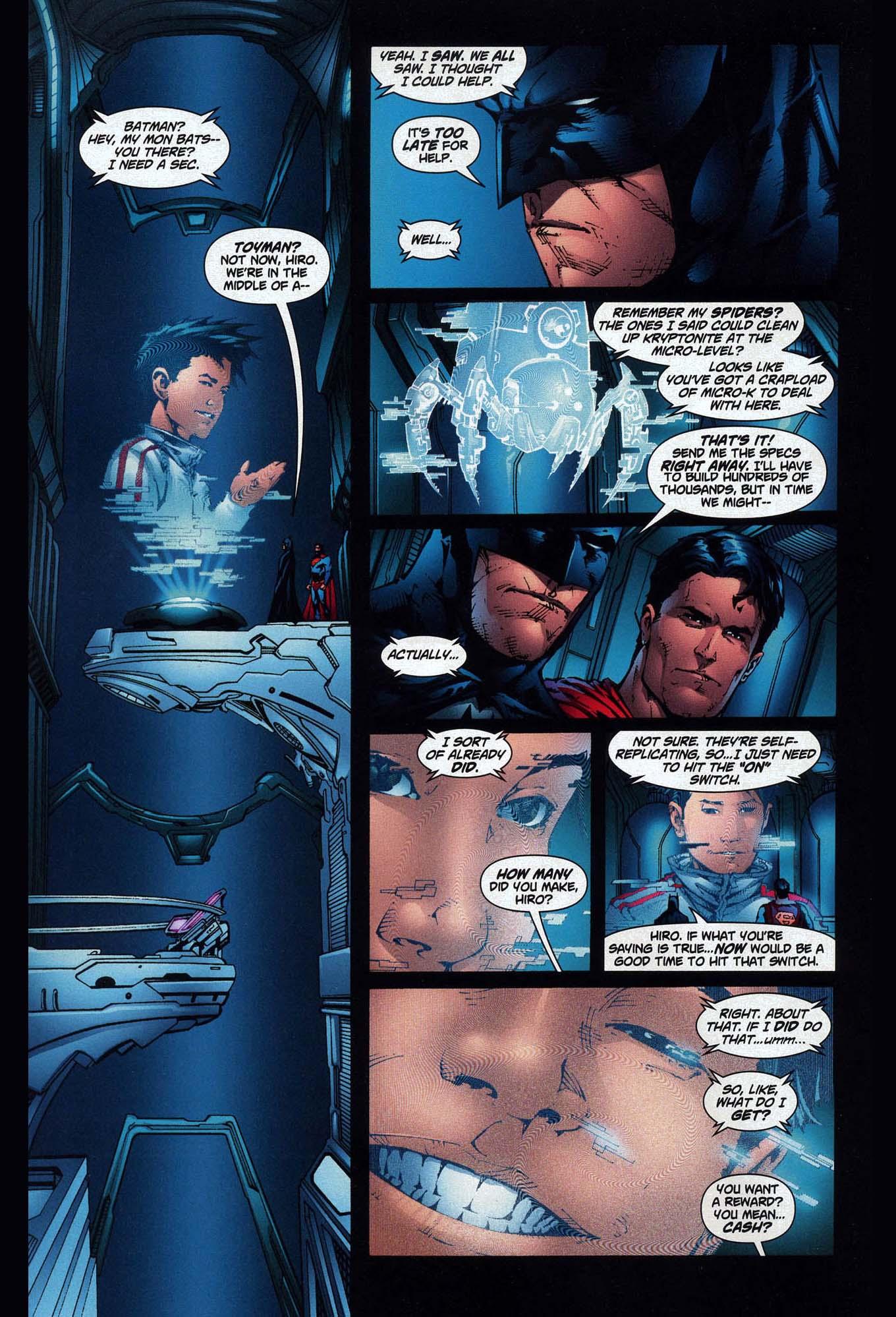 toyman's price for helping batman