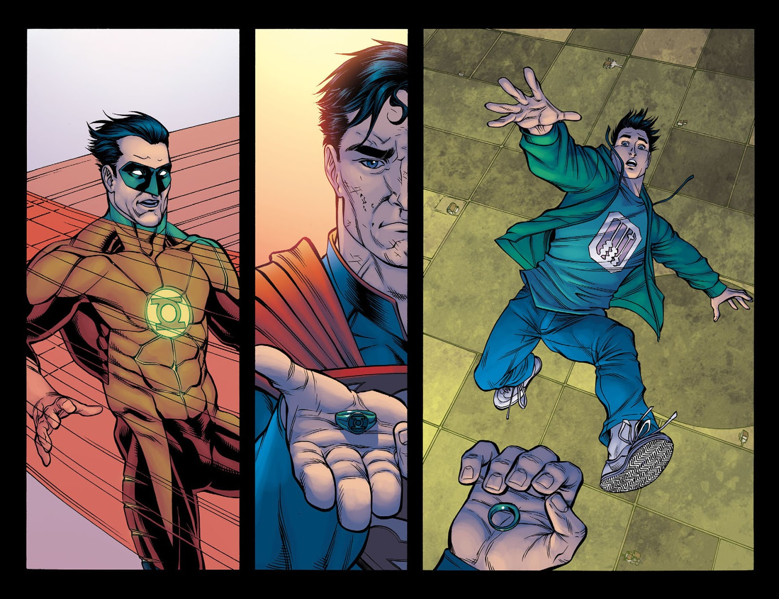 How Superman Beat Green Lantern (Injustice Gods Among Us) 2