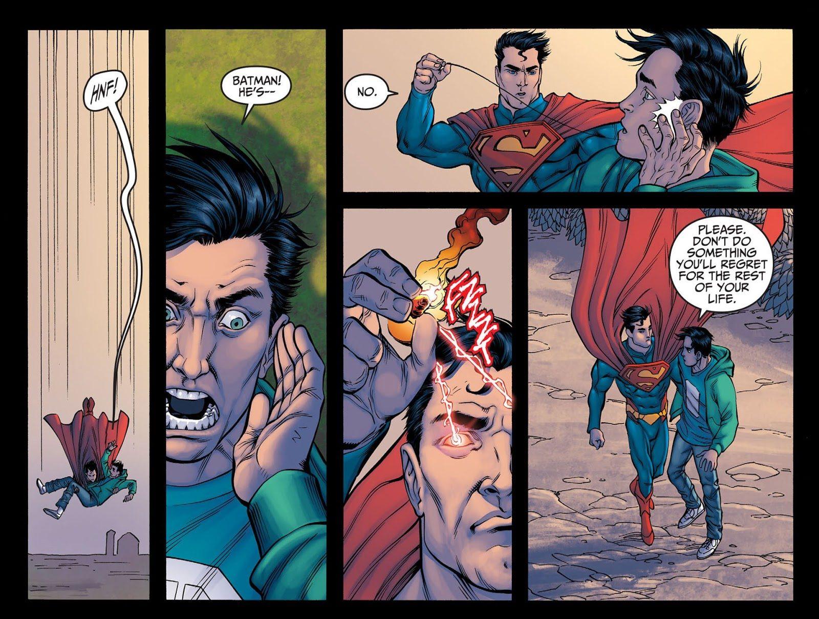 How Superman Beat Green Lantern (Injustice Gods Among Us)