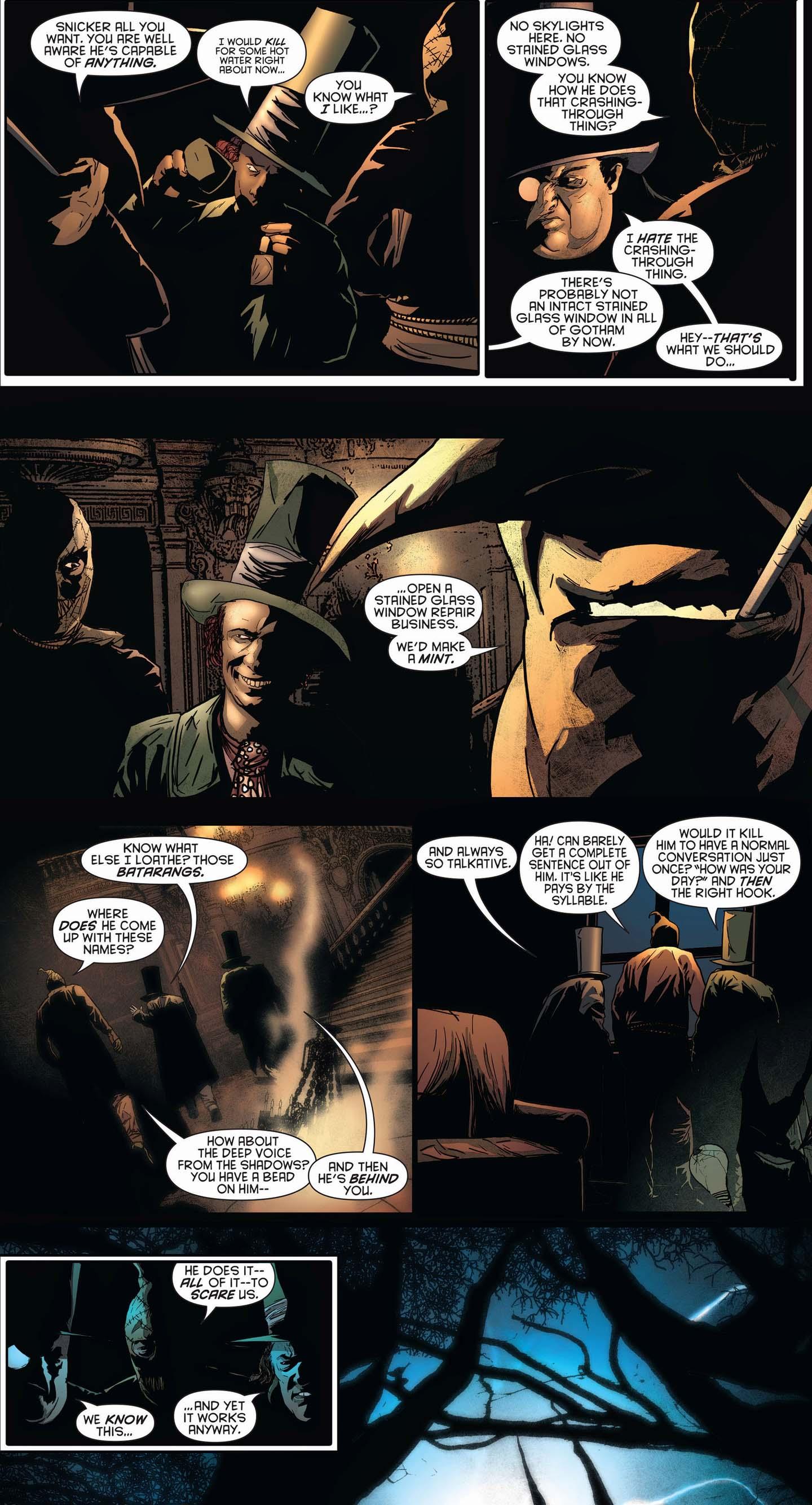 batman's methods