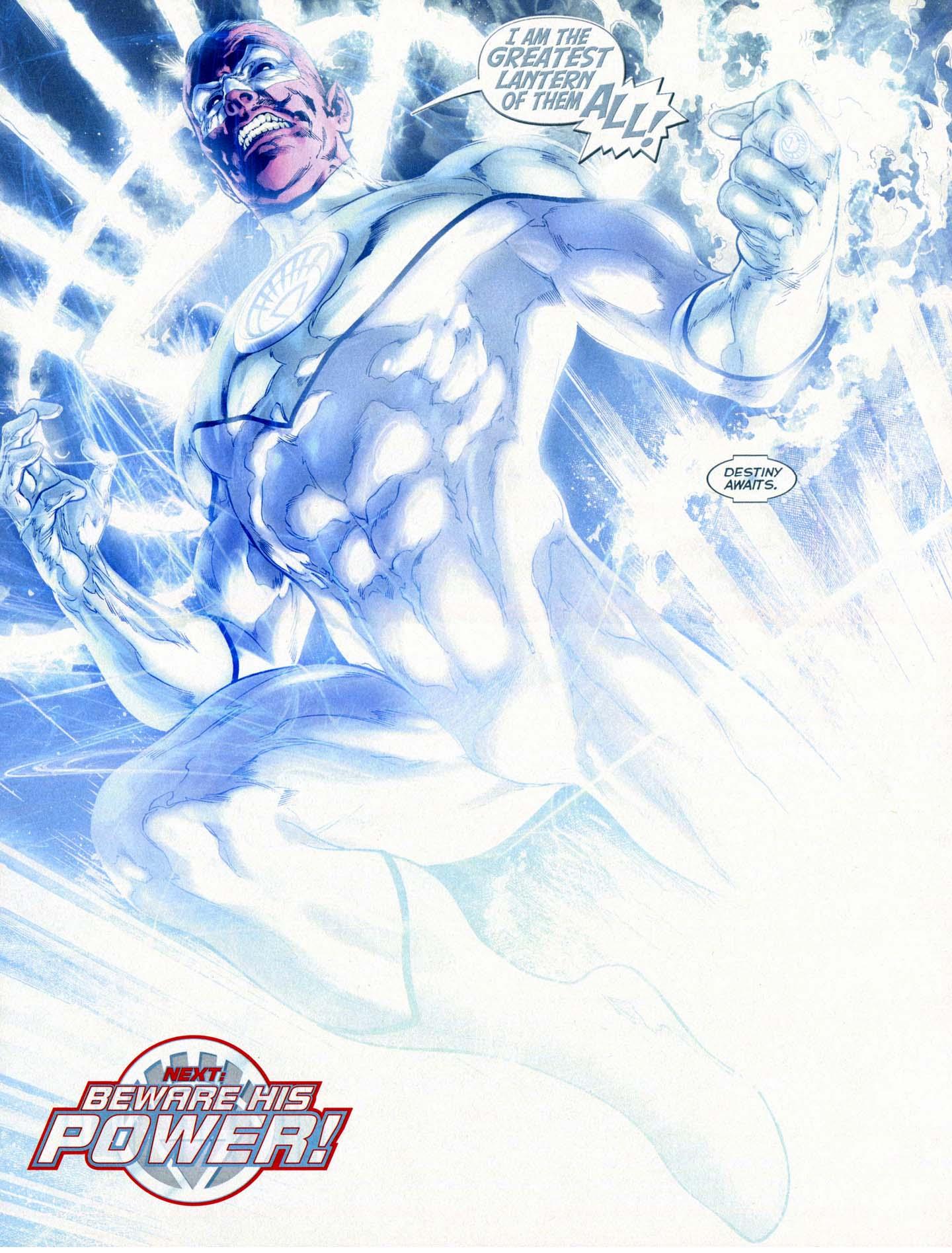 Sinestro + Entity