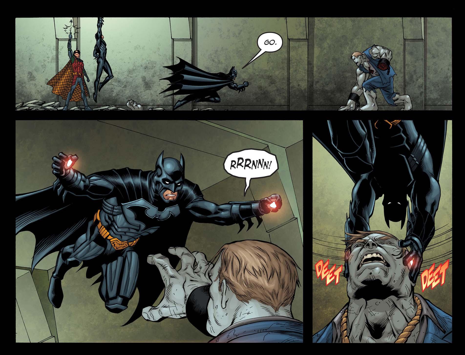 Batman VS Solomon Grundy
