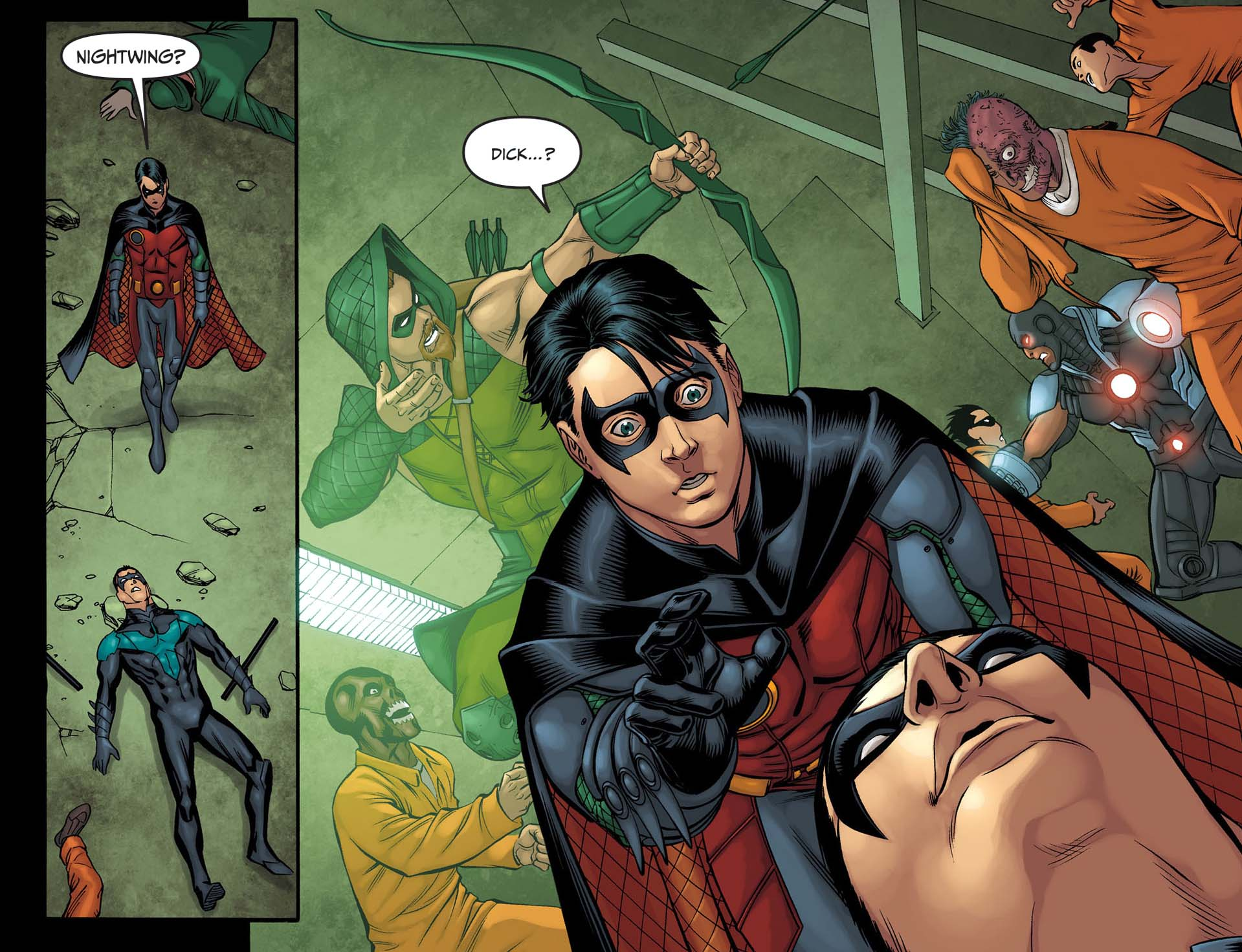 robin kills nightwing 3