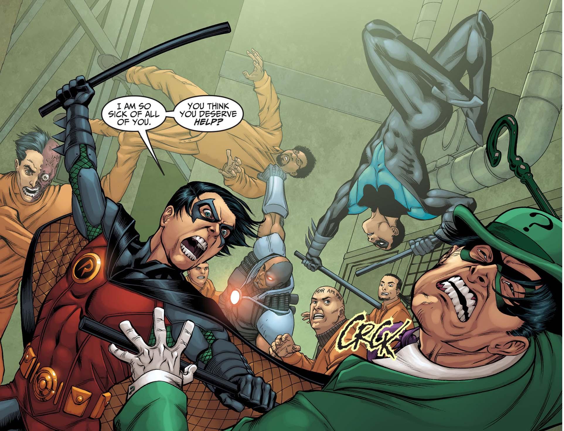 Robin vs Riddler