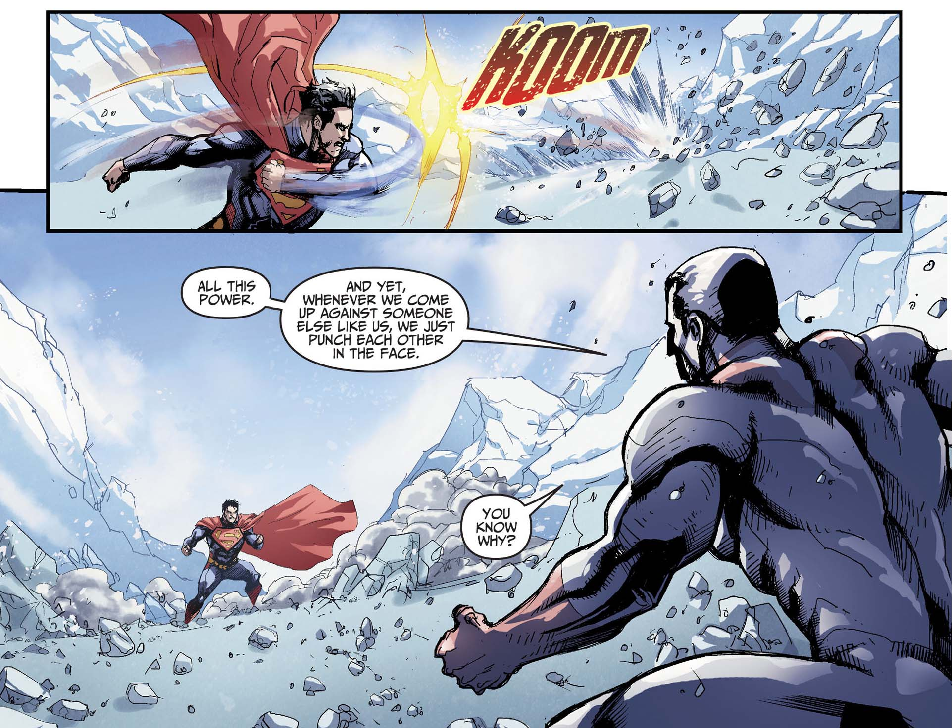 captain atom on fighting 2