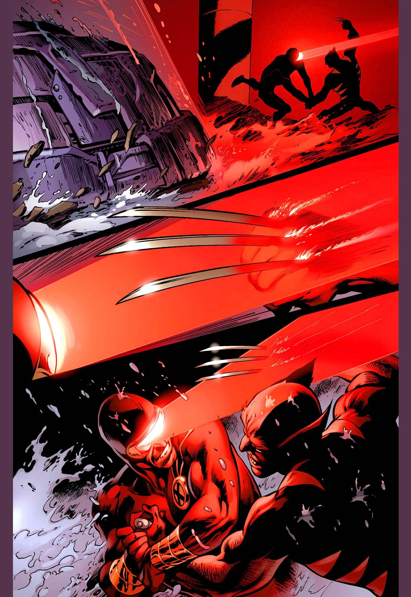 cyclops vs wolverine 5