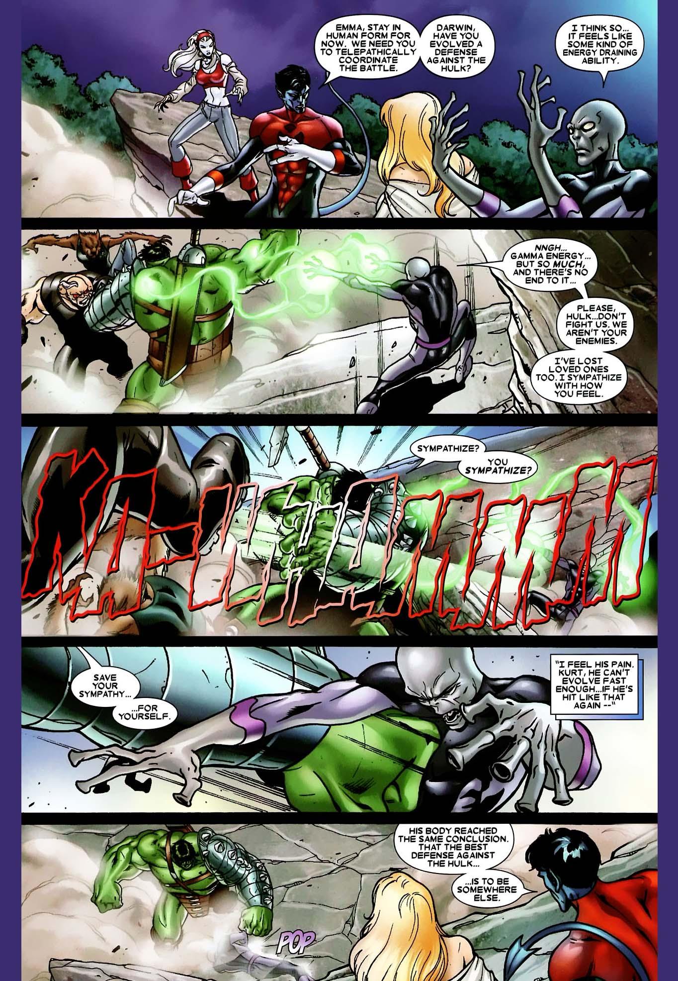 darwin vs the hulk