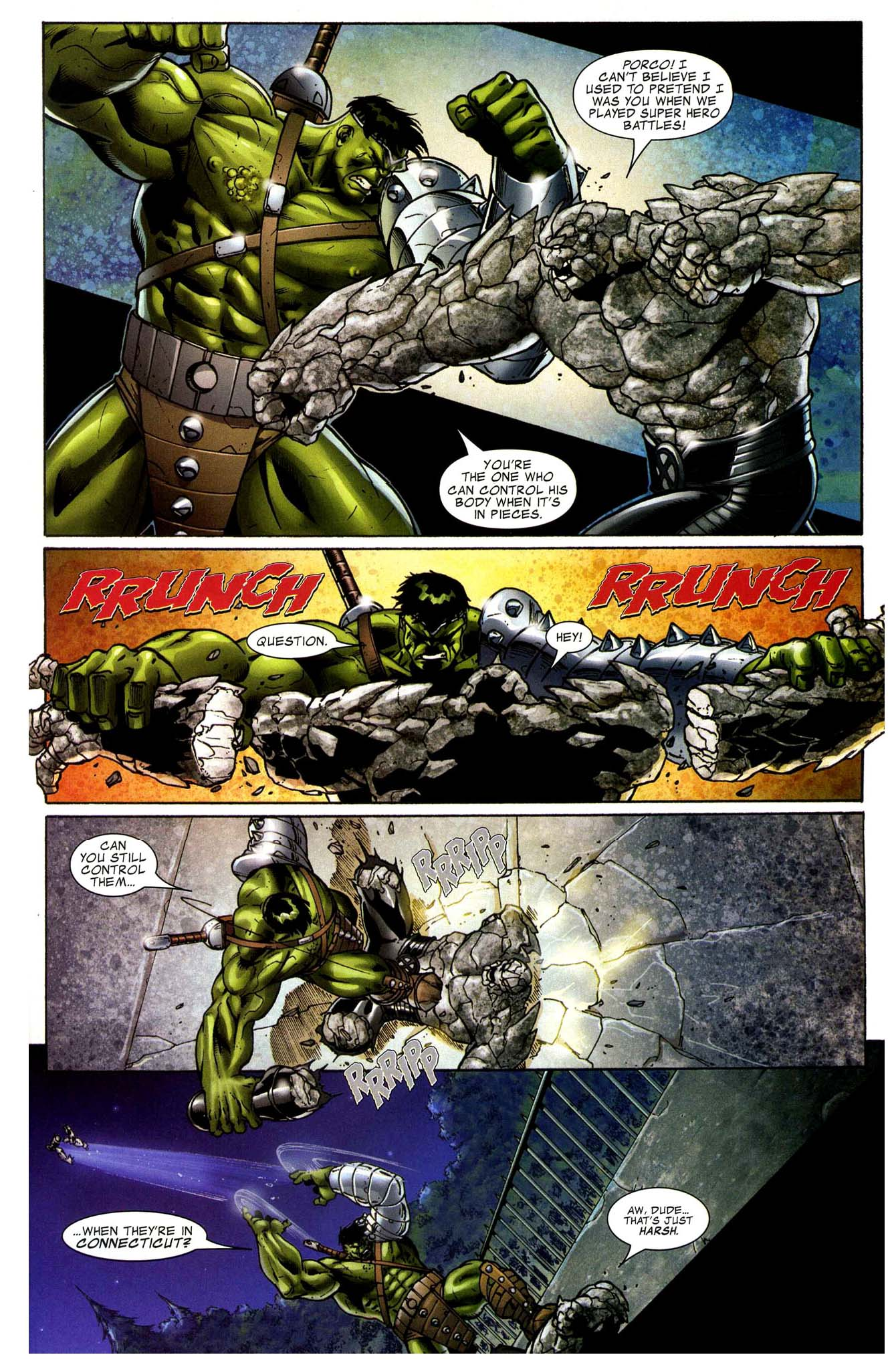 hulk vs rockslide