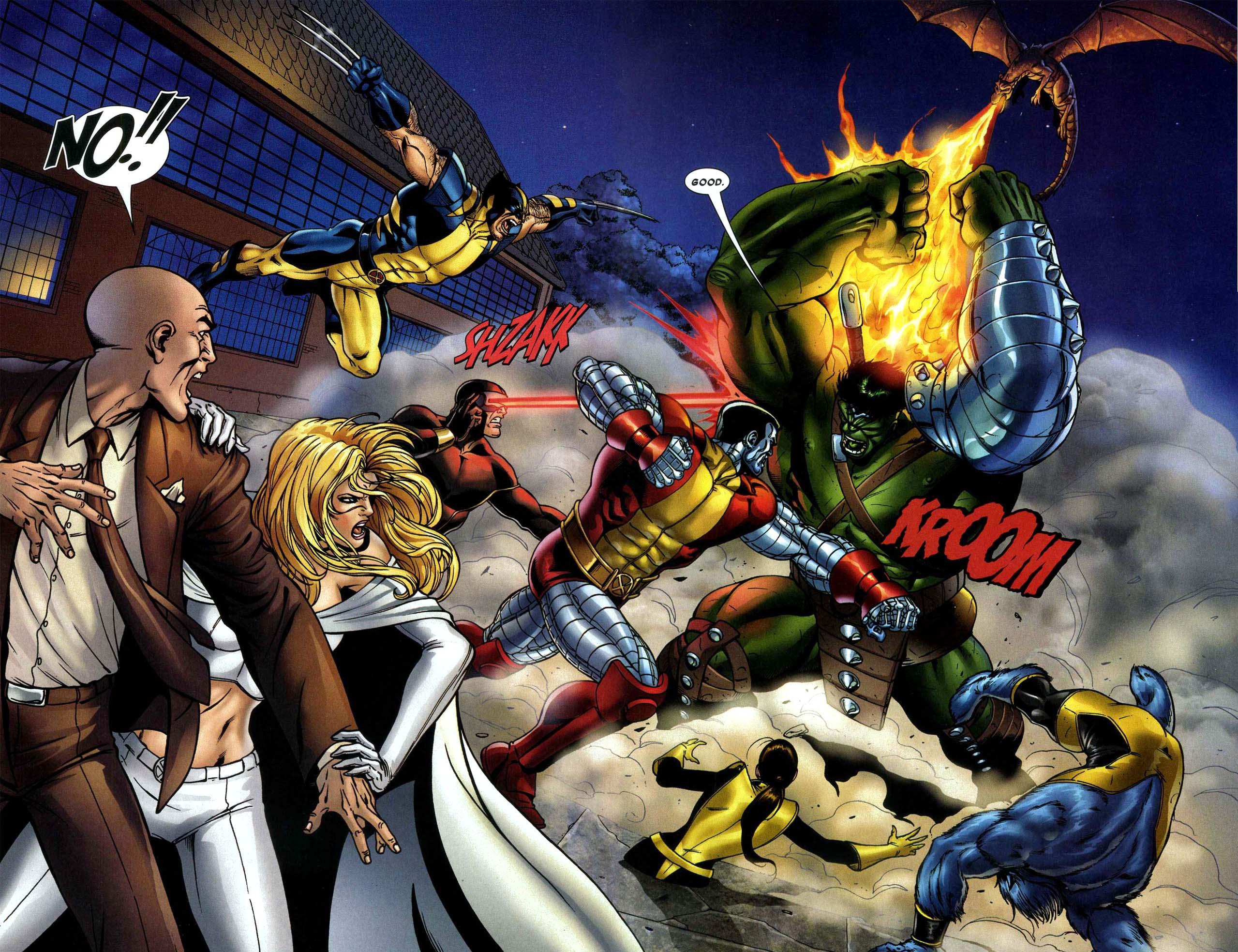 The Hulk VS Astonishing X-men 2