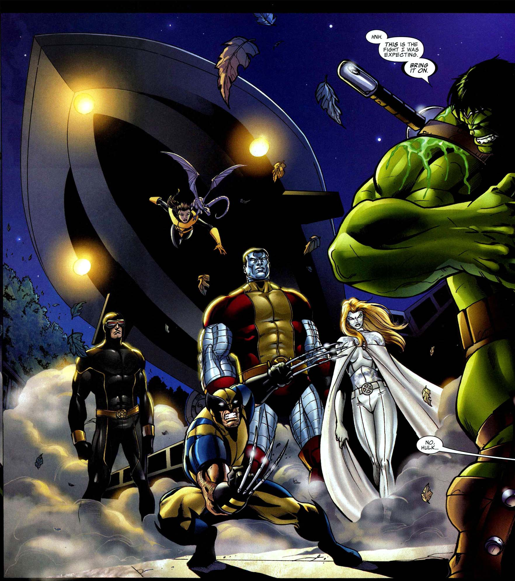 The Hulk VS Astonishing X-men
