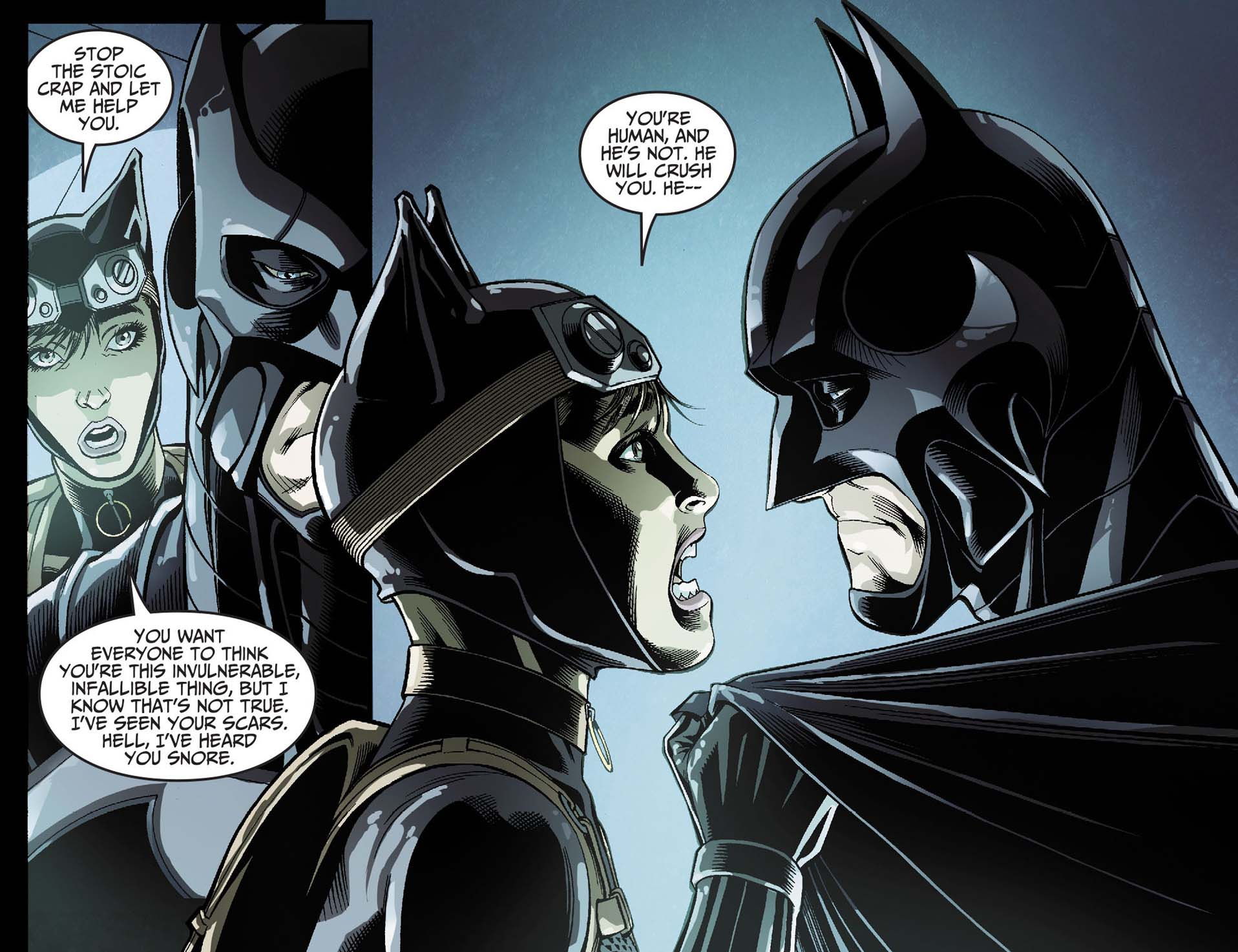 Catwoman Loves Batman