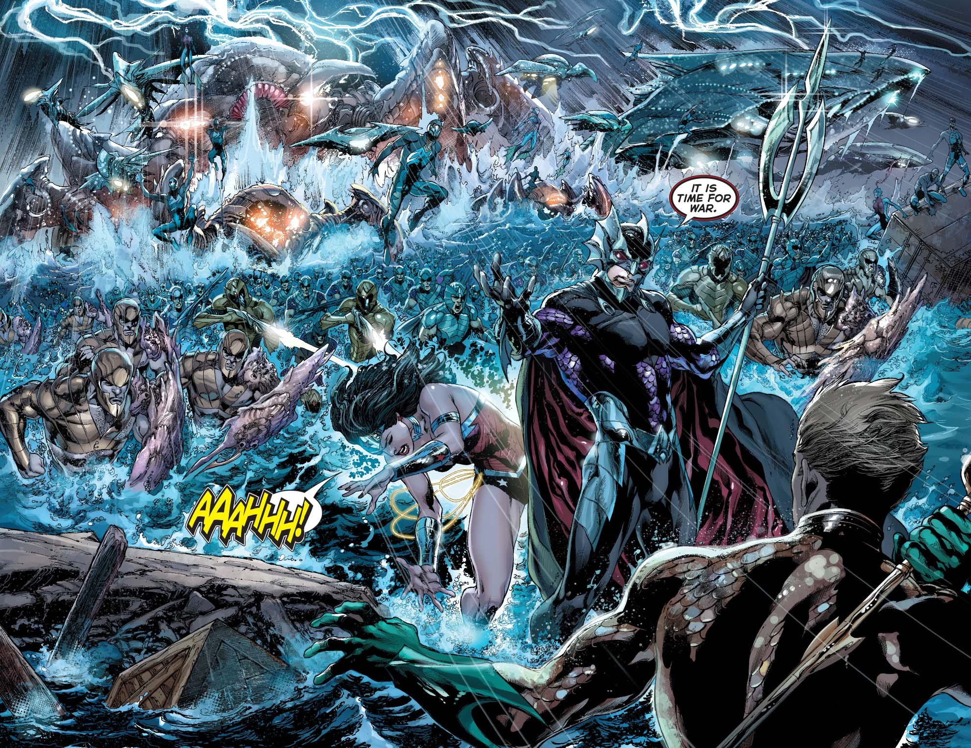 ocean master and the atlantean army