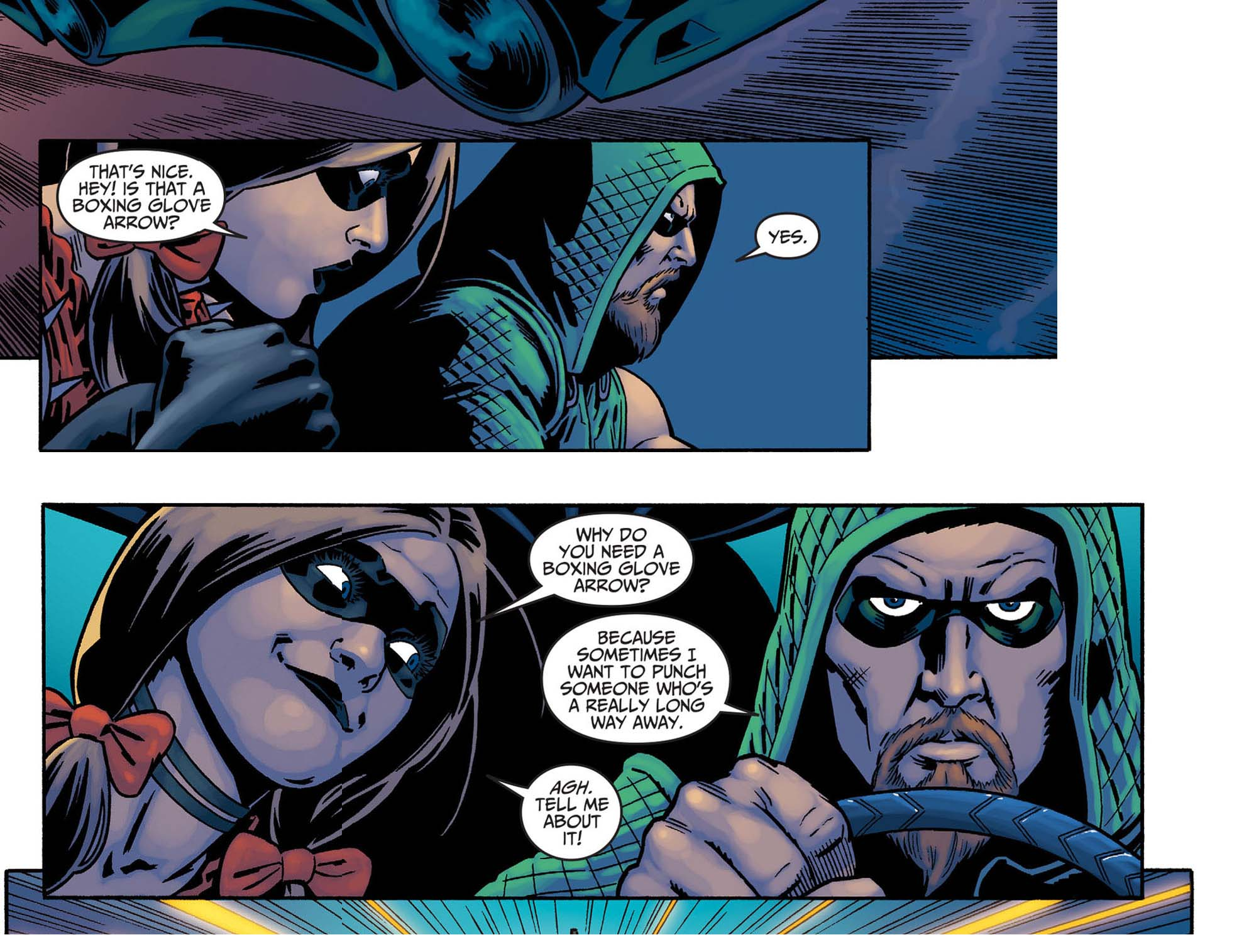 why you need a boxing glove arrow