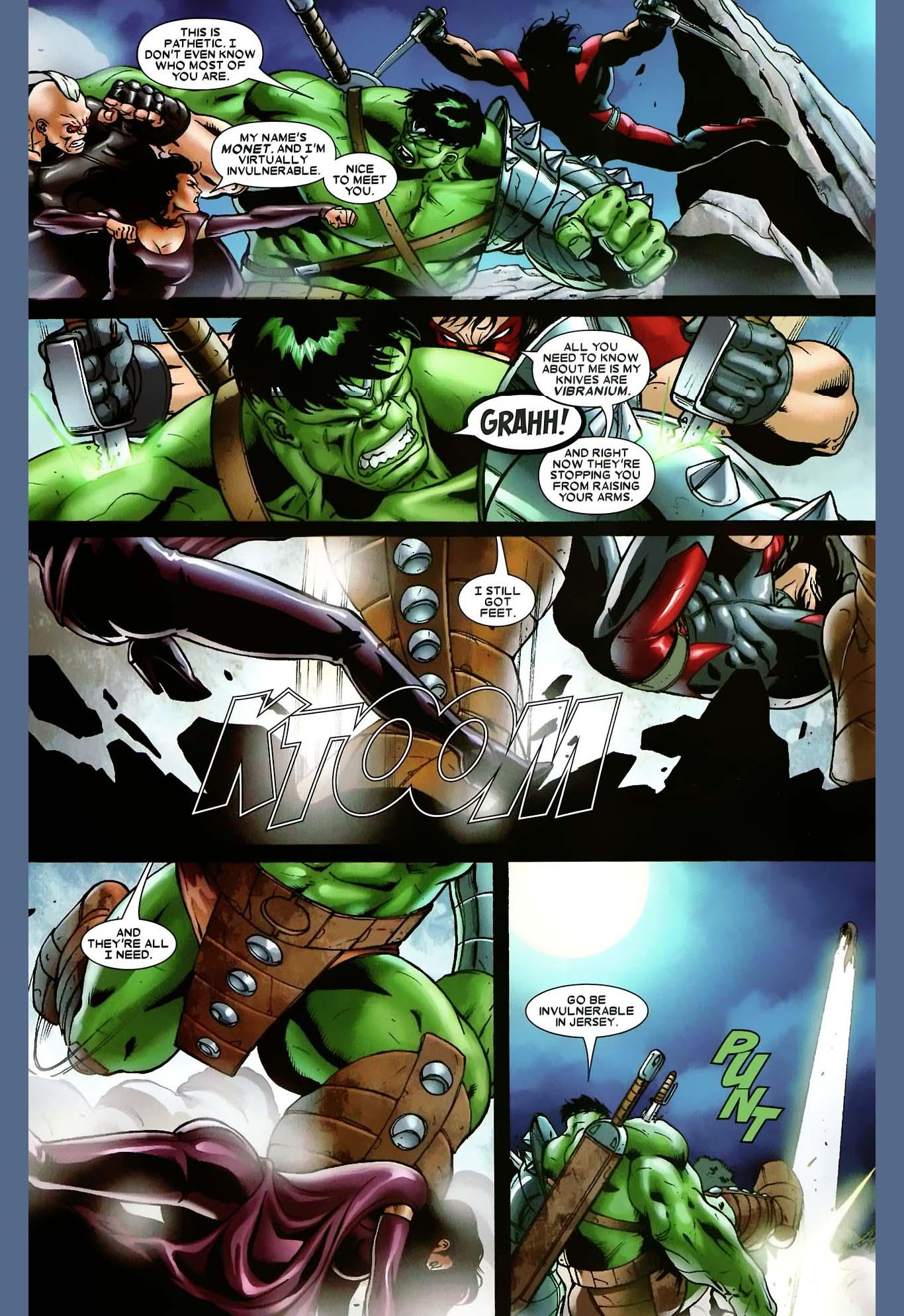 x-factor vs the hulk 2