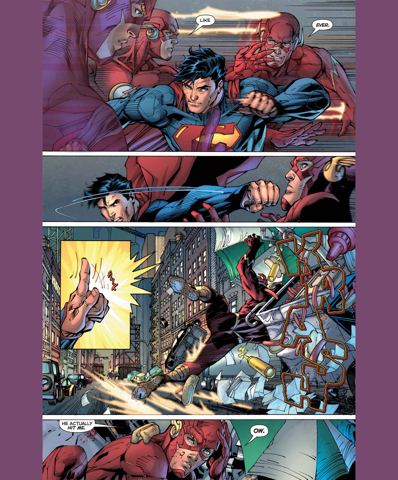 Superman and The Flash's First Meeting (new 52) 2