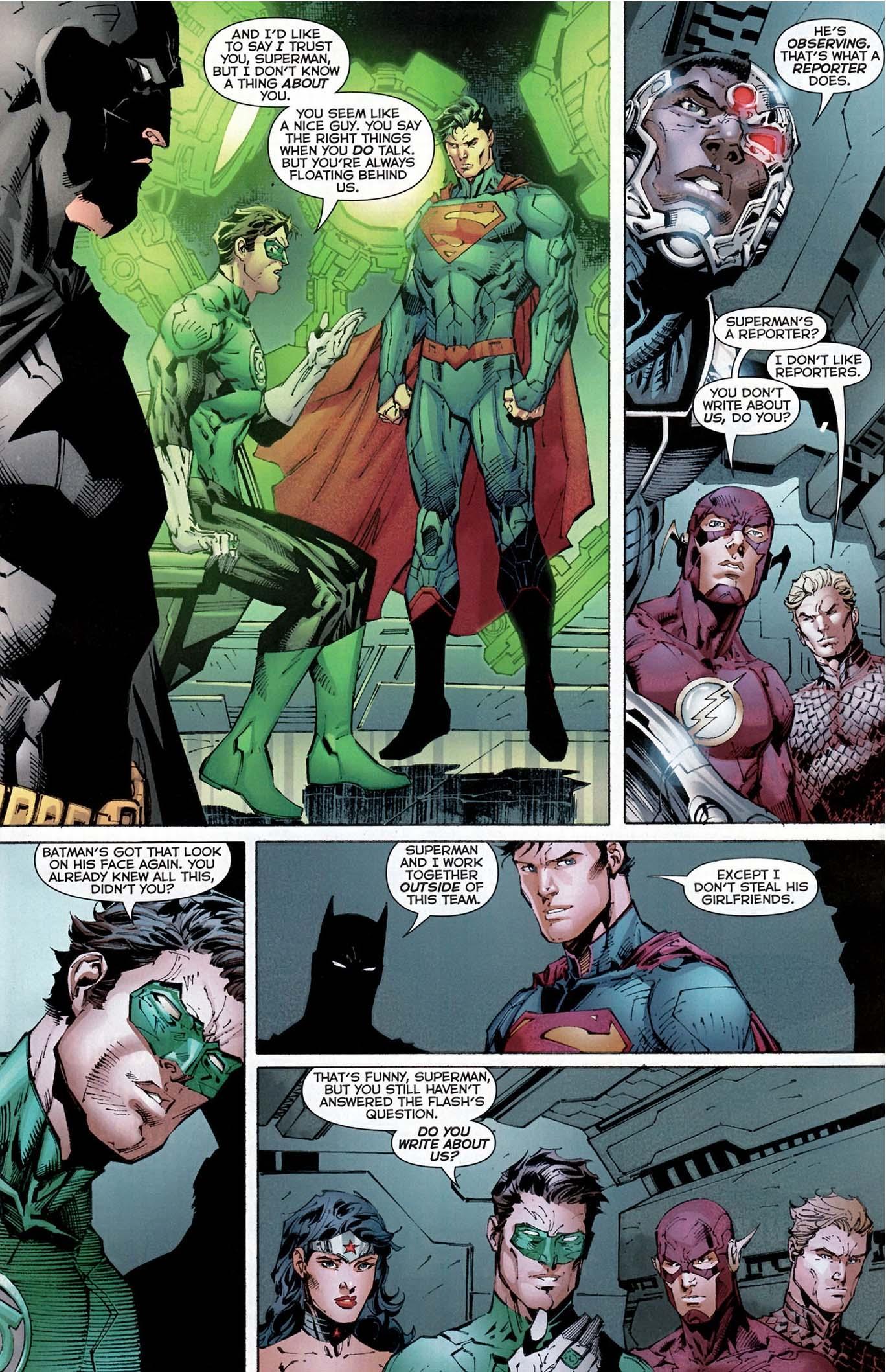 superman doesn't steal girlfriends