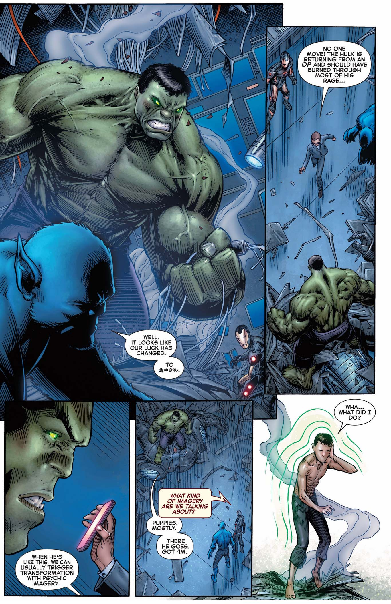 how to calm down the hulk