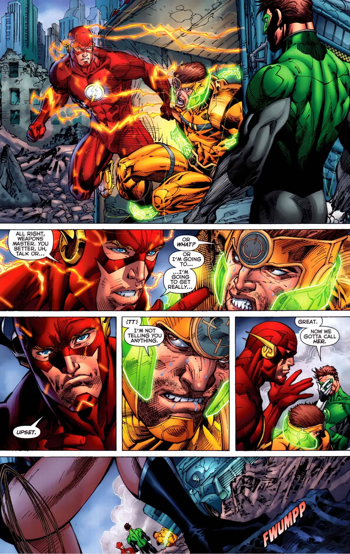 flash can't be bad cop 2