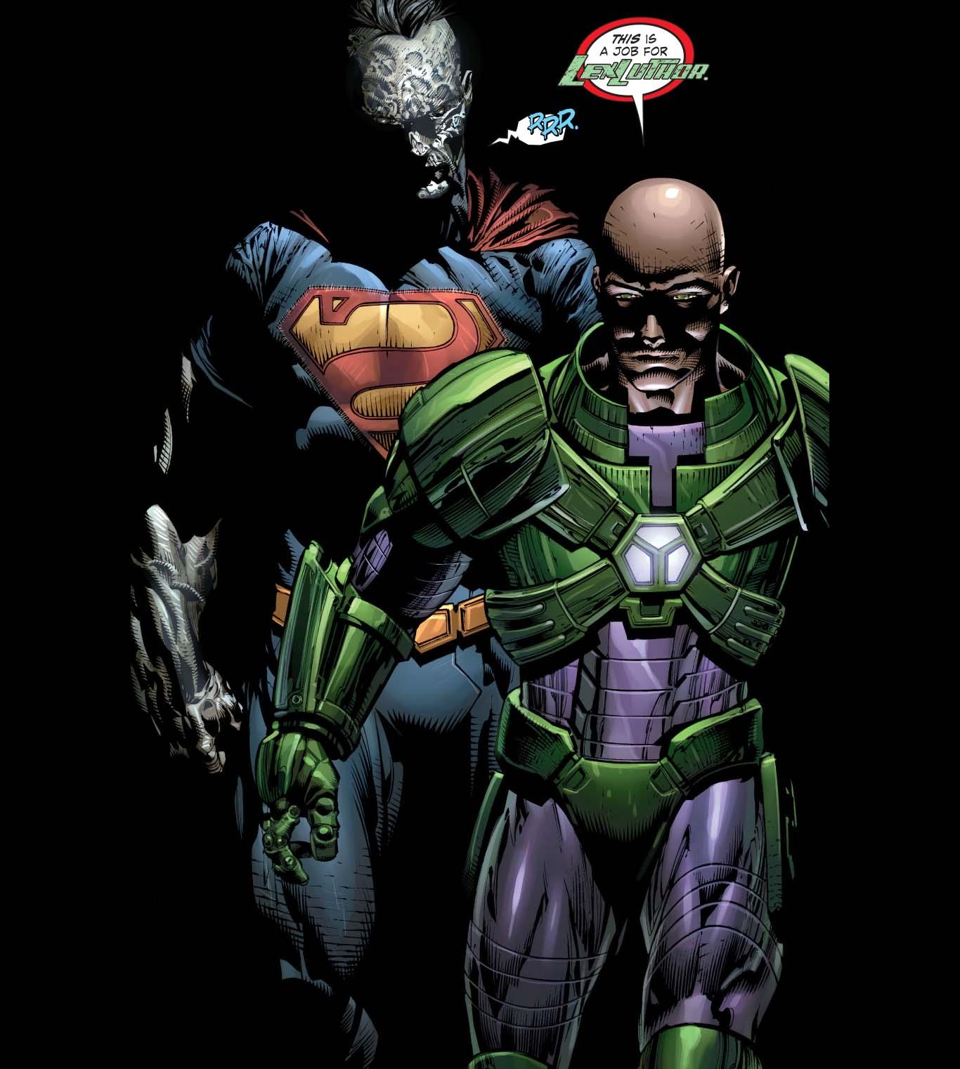 lex luthor and bizarro
