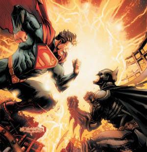 injustice superman vs batman