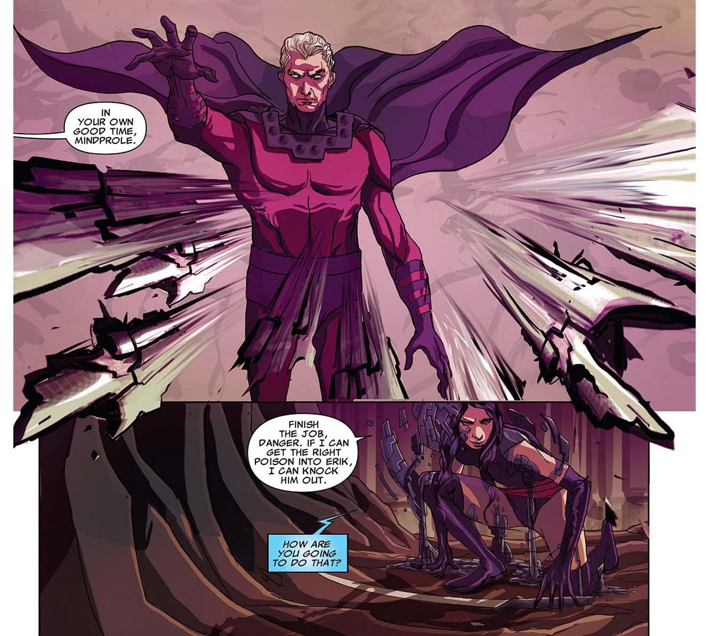 psylocke takes out magneto