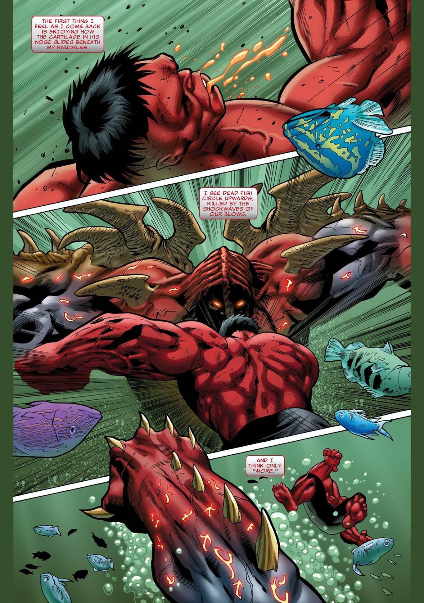 red hulk vs juggerlossus