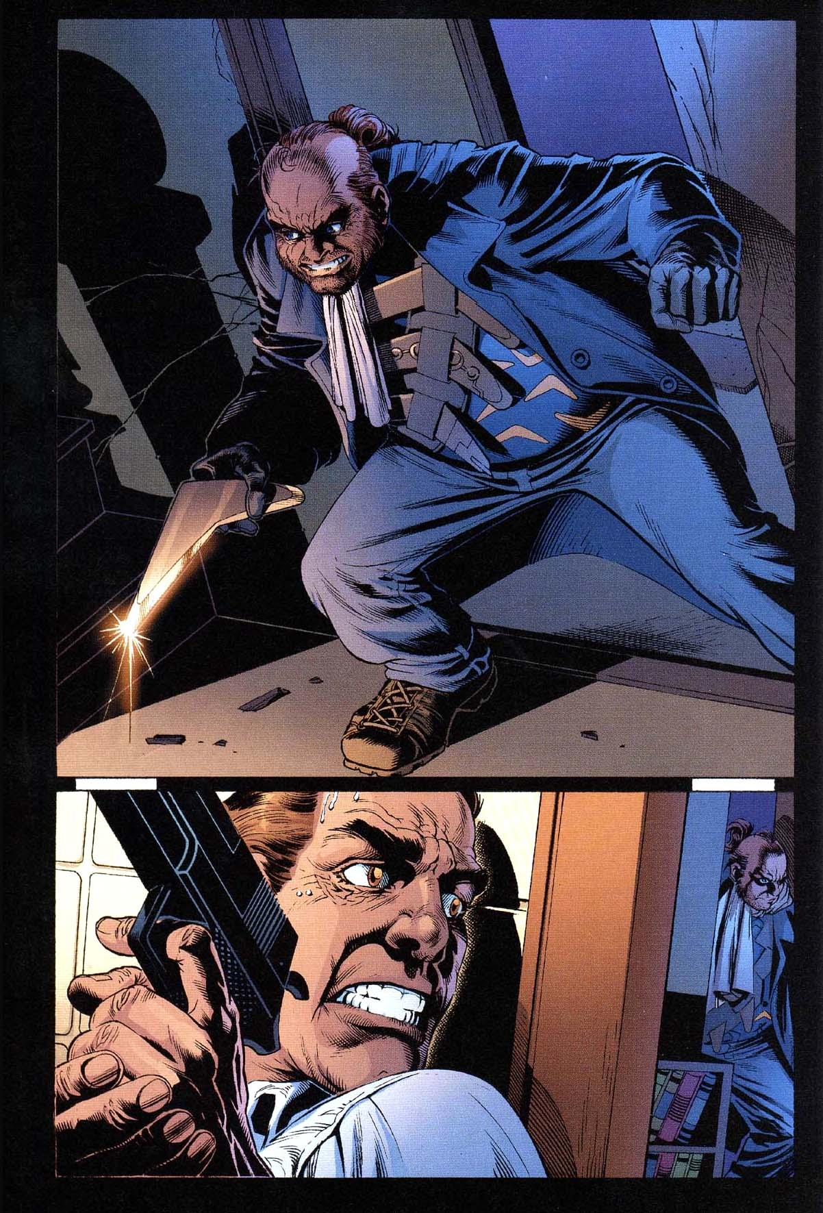 captain boomerang kills jack drake