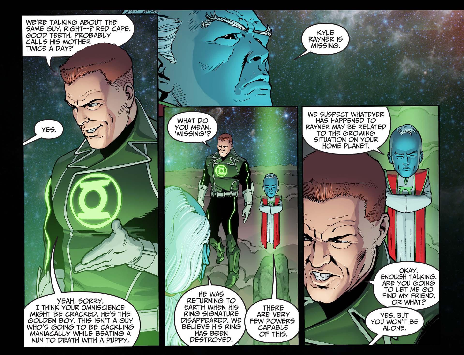 what guy gardner thinks of superman 2