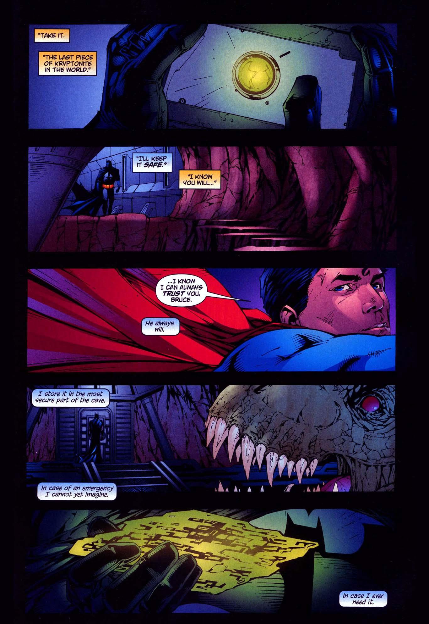 what is batman's secret collection