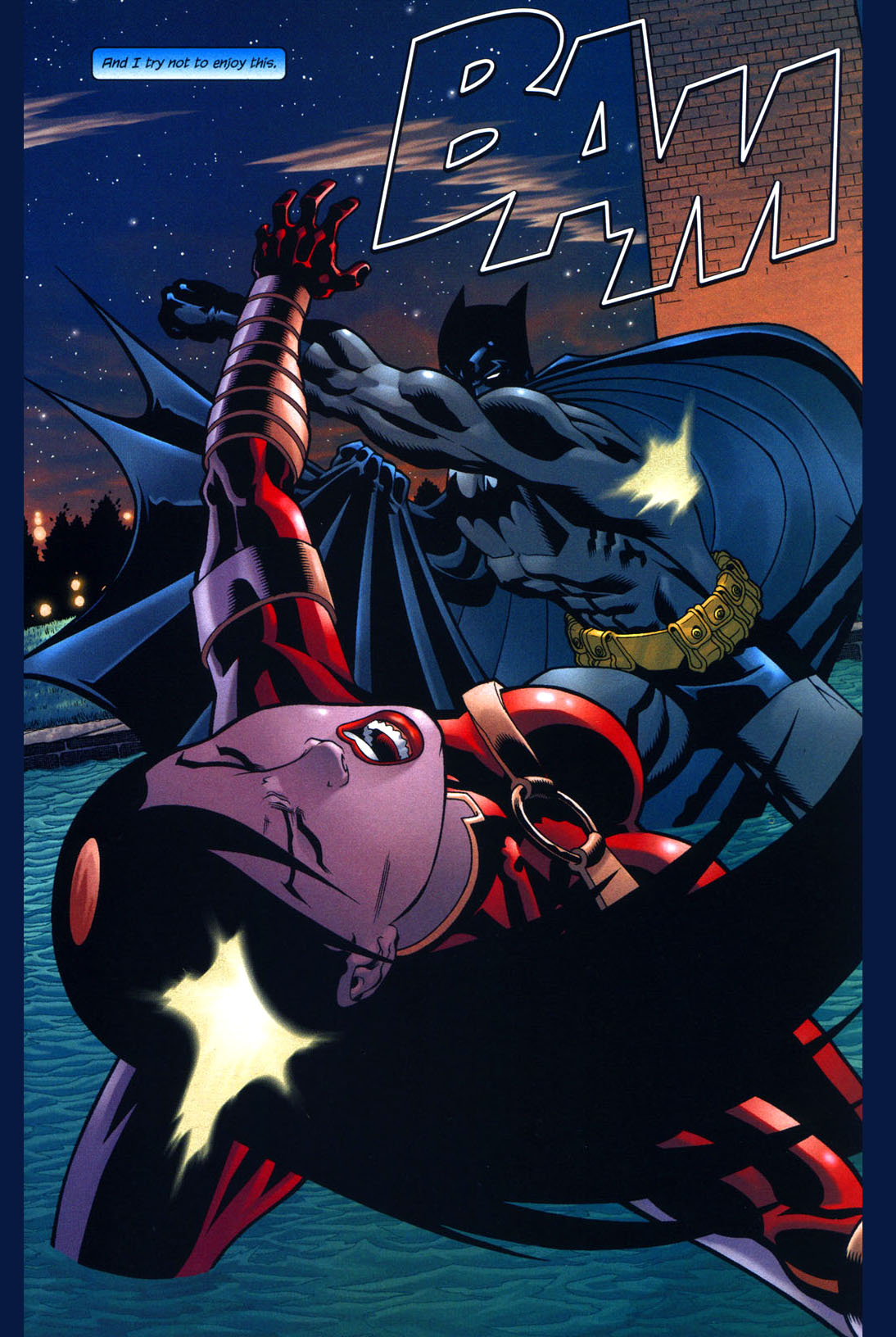 batman vs mind-controlled lady shiva 3
