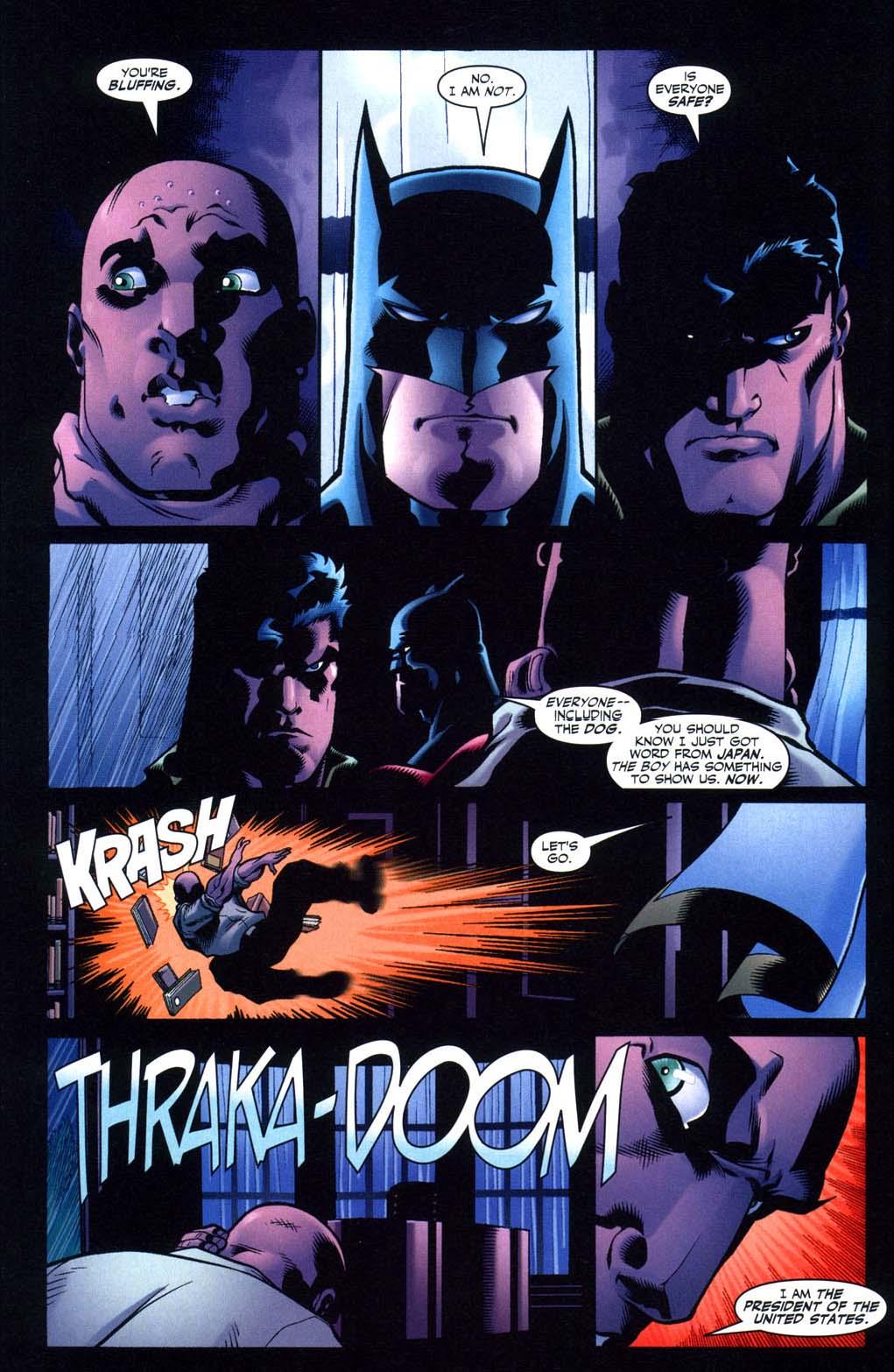 batman wants superman to kill luthor 2
