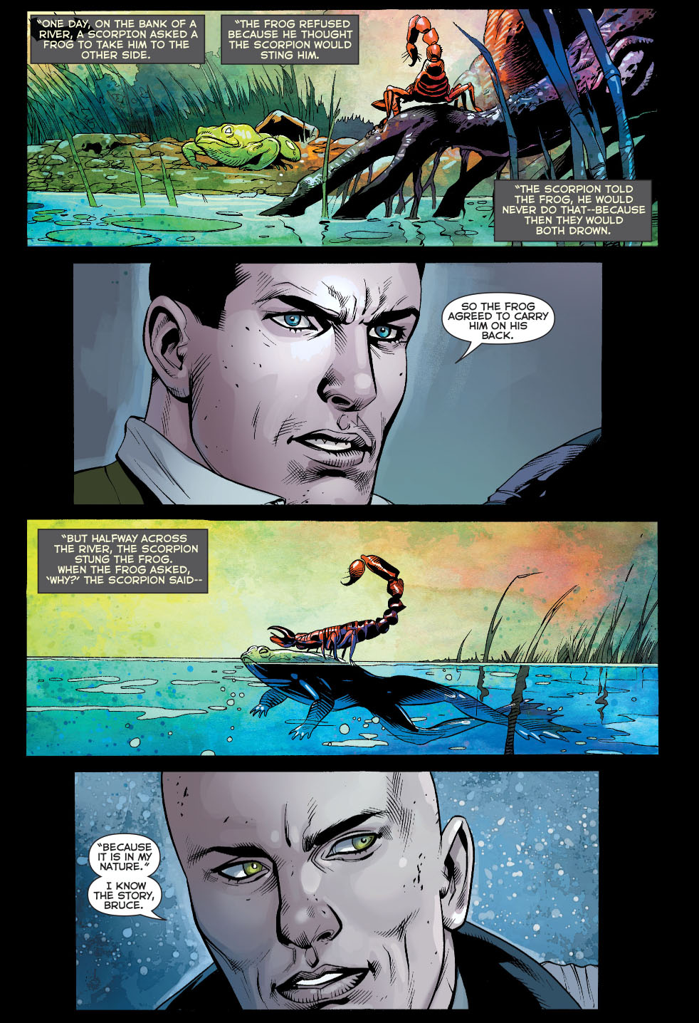 bruce wayne tells lex luthor a story 2