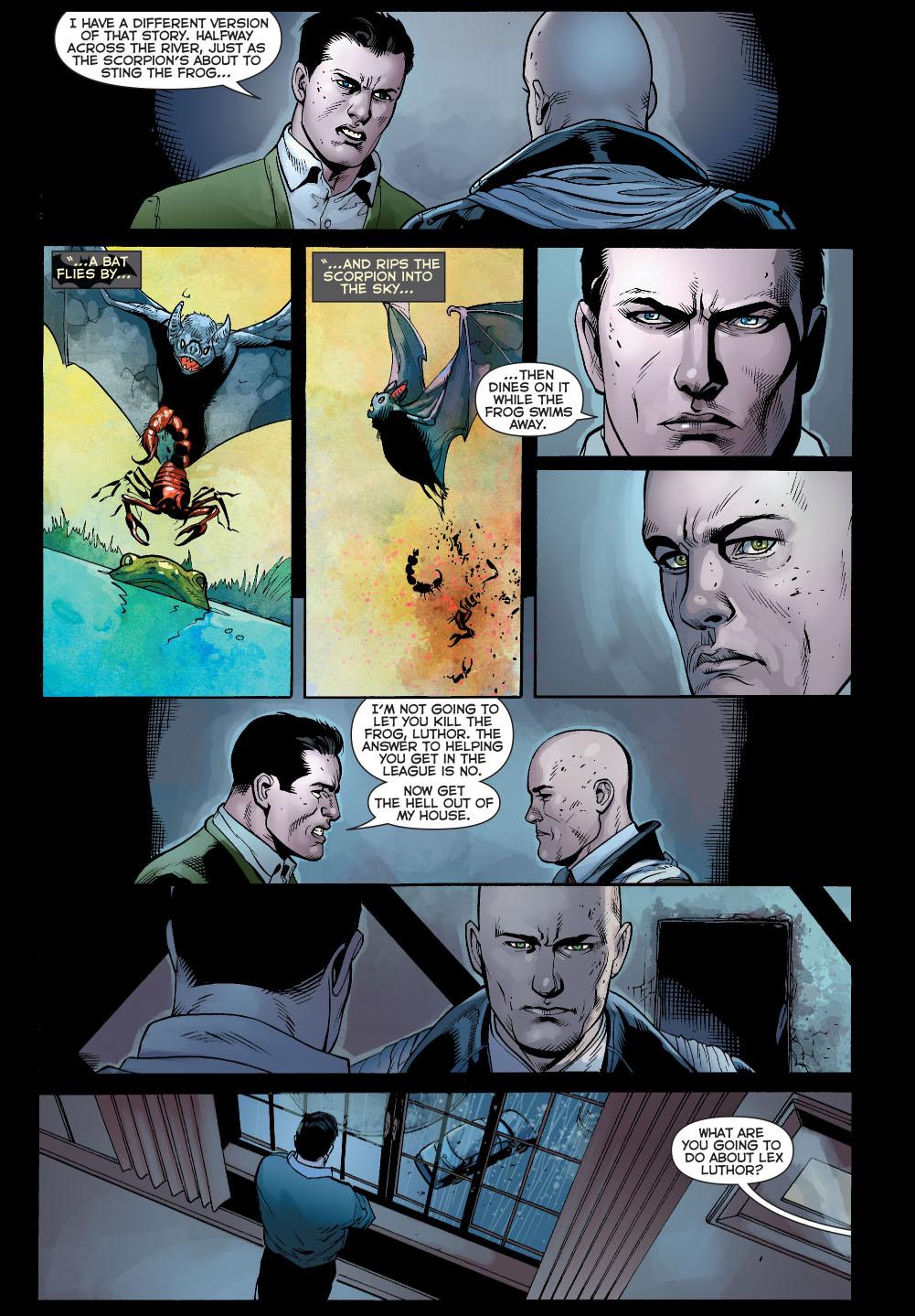 bruce wayne tells lex luthor a story 3