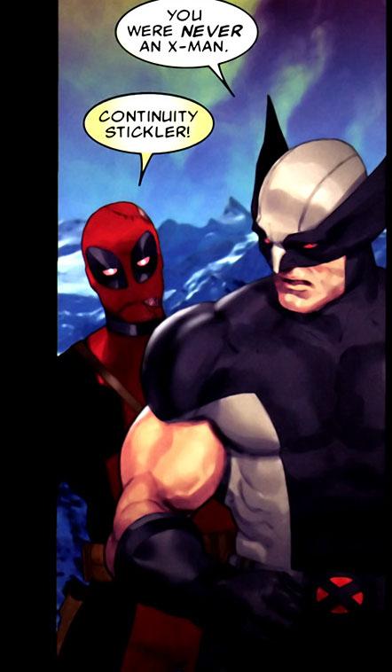 deadpool's not an x-man 2