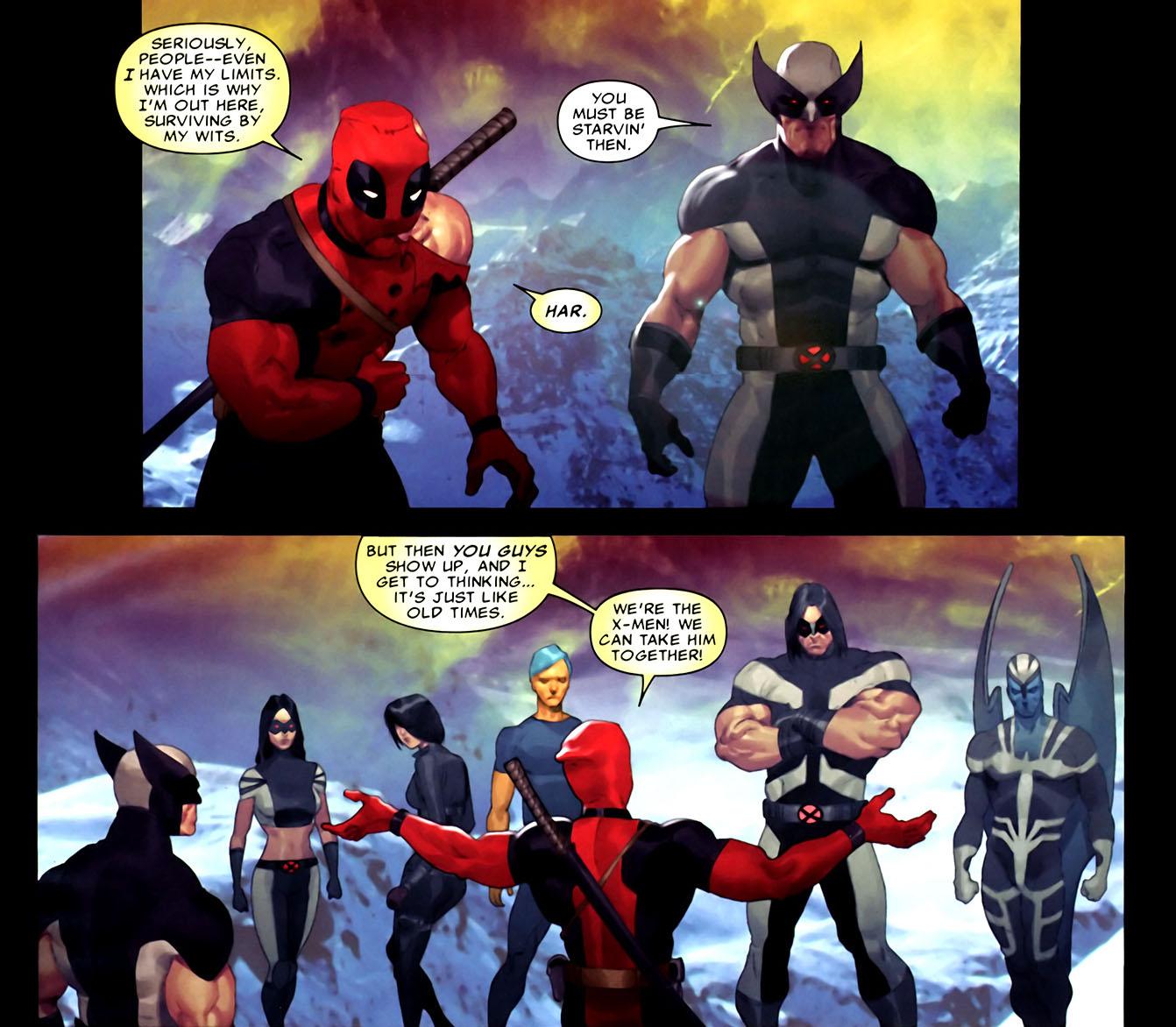 deadpool's not an x-man