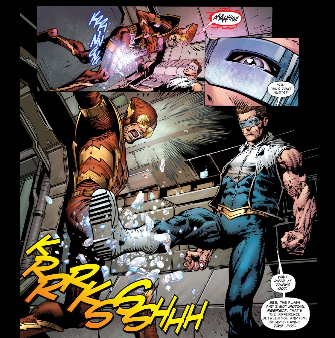 How Captain Cold Defeated Johnny Quick 2
