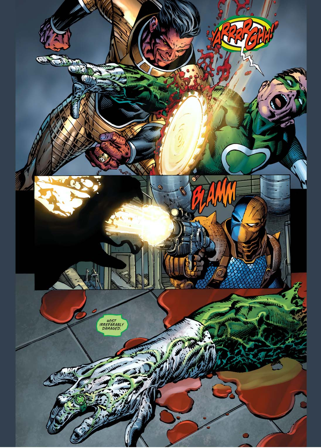how sinestro defeated power ring
