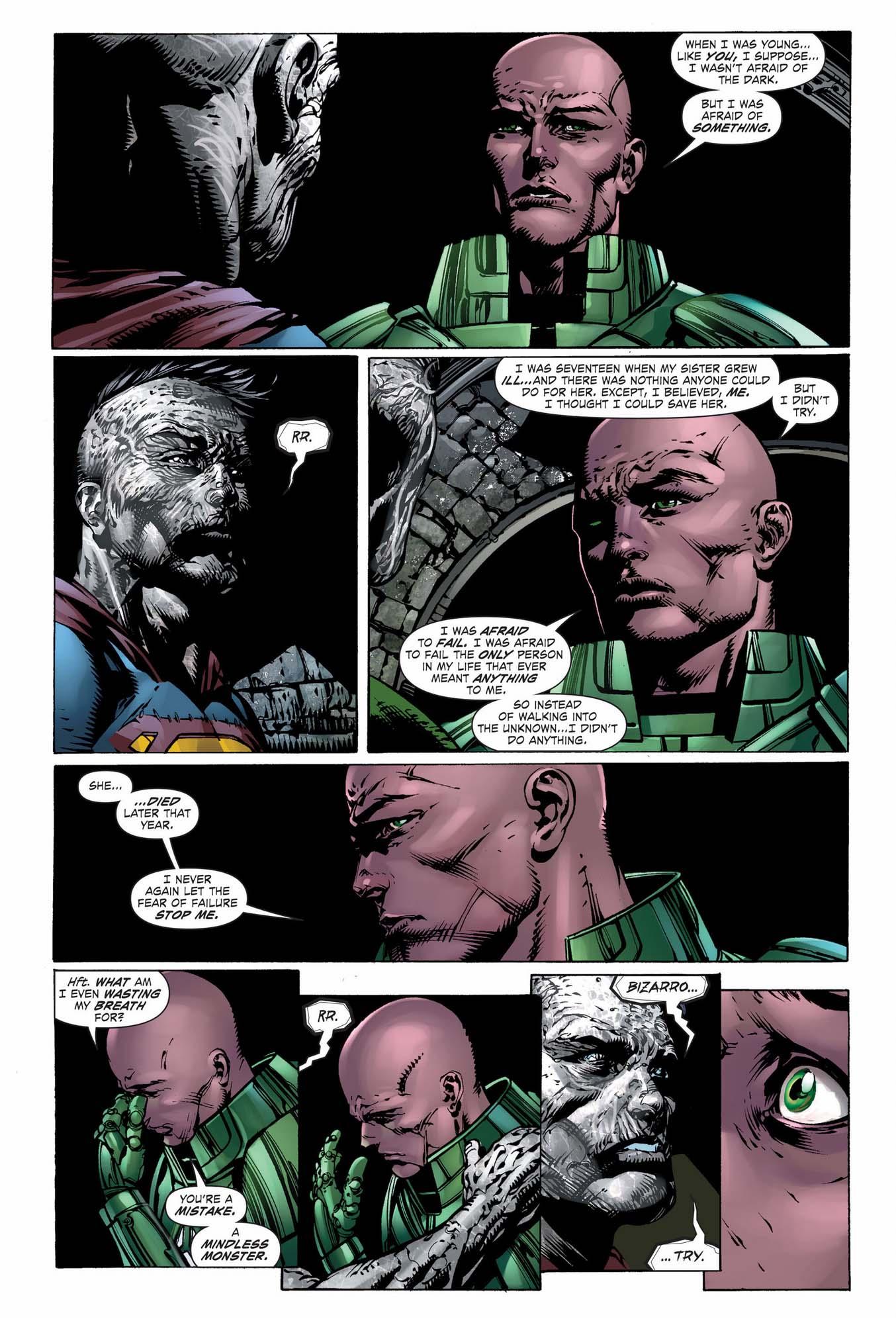lex luthor bonds with bizarro 2