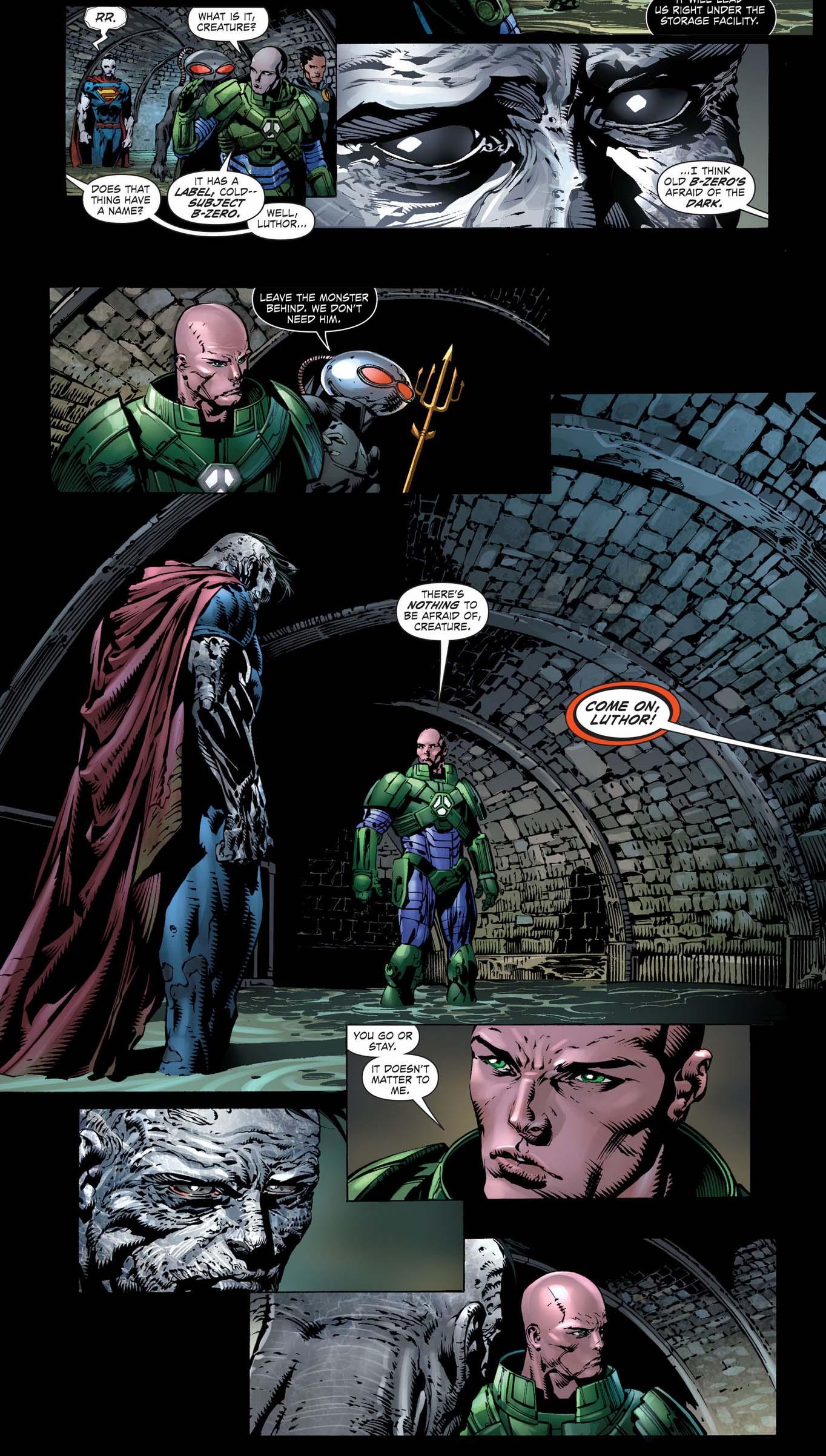 lex luthor bonds with bizarro