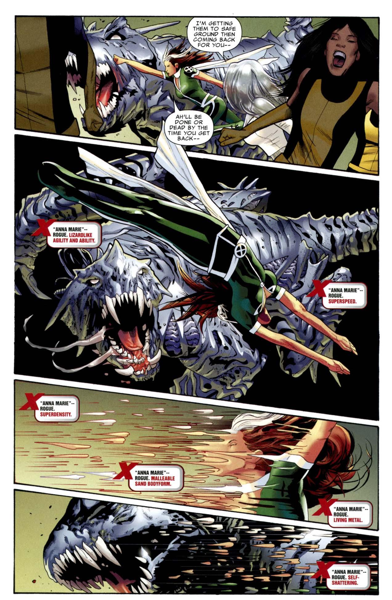 rogue takes down a predator x 2