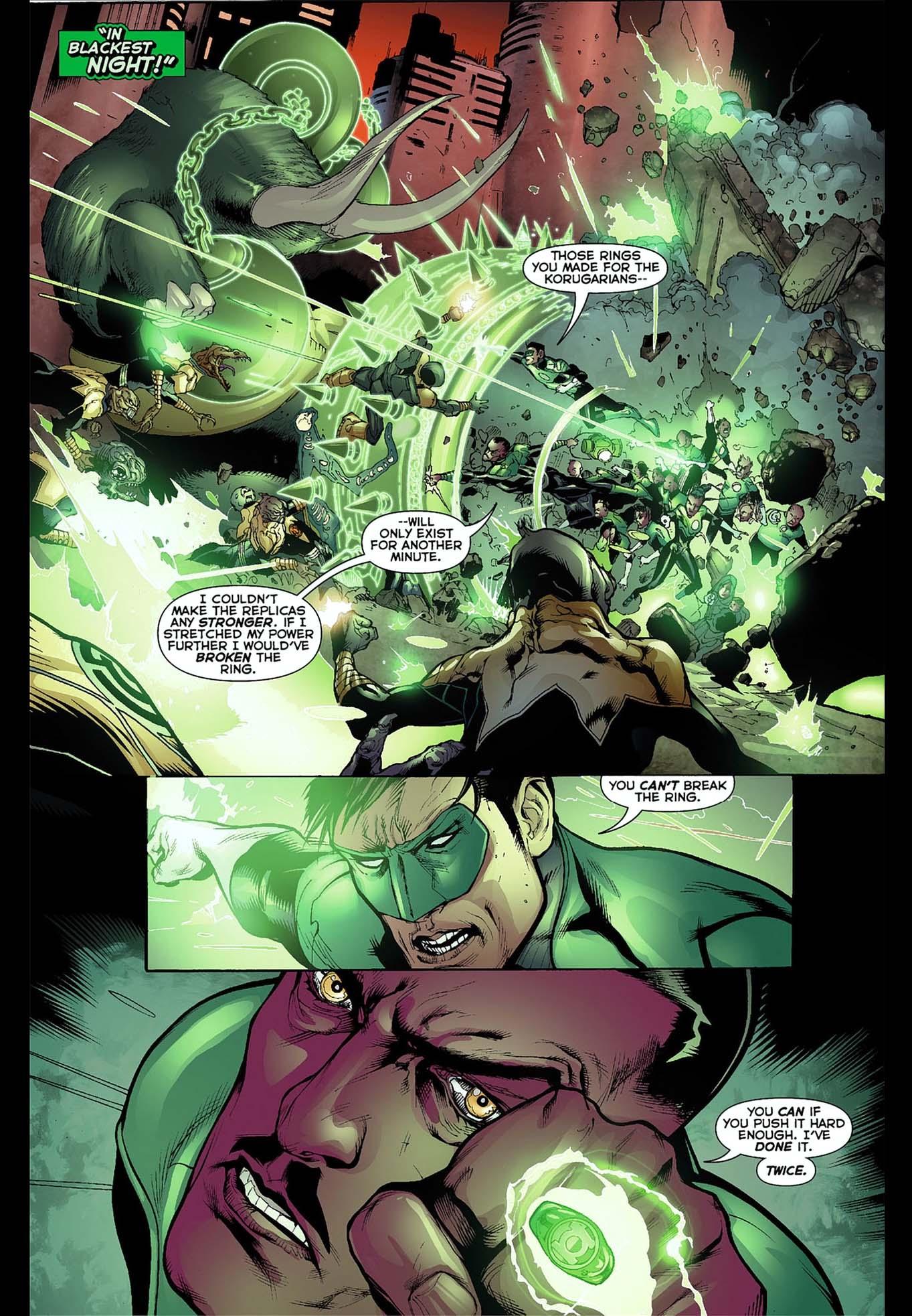 sinestro destroyed 2 green lantern rings