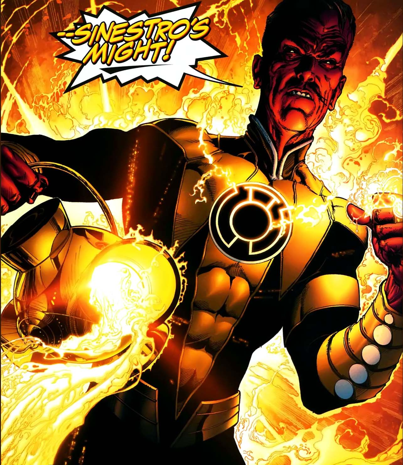 5 things you did not know about sinestro