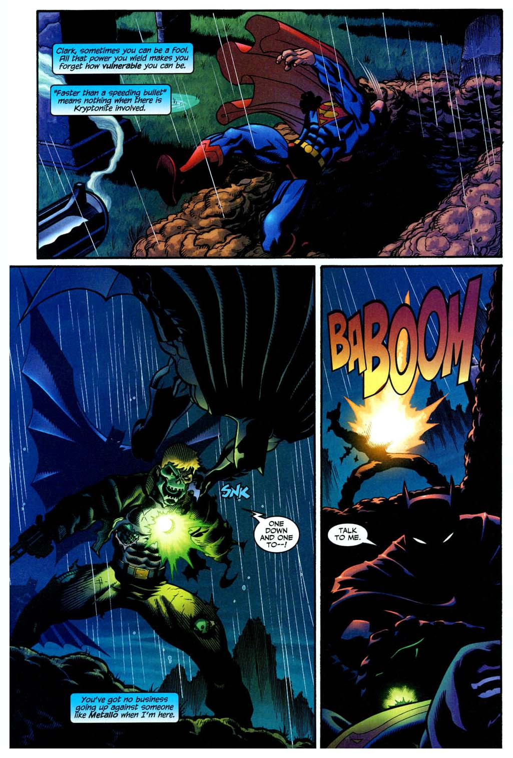 superman and batman vs metallo 3